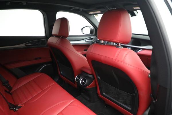 New 2021 Alfa Romeo Stelvio Ti Sport Q4 for sale $56,240 at Bugatti of Greenwich in Greenwich CT 06830 22