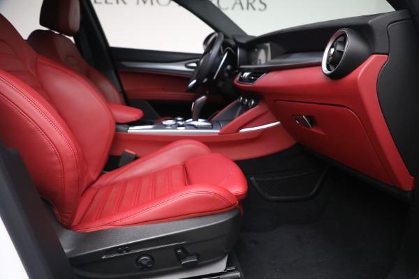 New 2021 Alfa Romeo Stelvio Ti Sport Q4 for sale $56,240 at Bugatti of Greenwich in Greenwich CT 06830 23