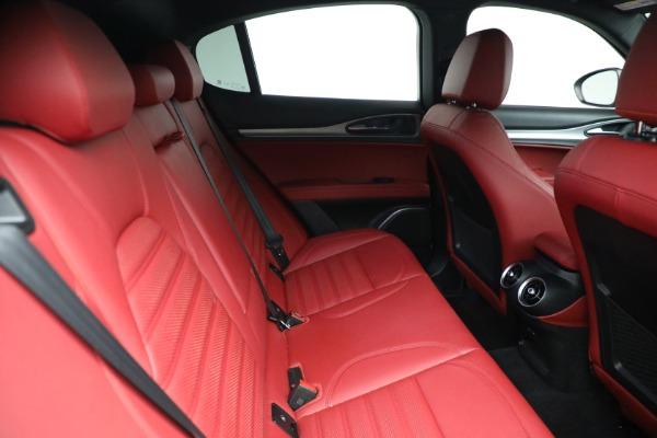 New 2021 Alfa Romeo Stelvio Ti Sport Q4 for sale $56,240 at Bugatti of Greenwich in Greenwich CT 06830 25