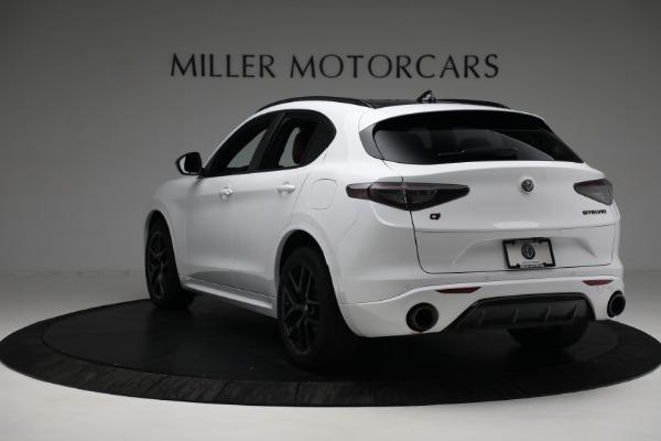 New 2021 Alfa Romeo Stelvio Ti Sport Q4 for sale $56,240 at Bugatti of Greenwich in Greenwich CT 06830 5