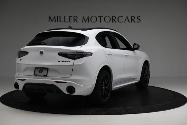 New 2021 Alfa Romeo Stelvio Ti Sport Q4 for sale $56,240 at Bugatti of Greenwich in Greenwich CT 06830 7