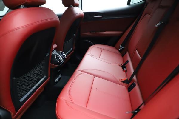 New 2021 Alfa Romeo Stelvio Q4 for sale Sold at Bugatti of Greenwich in Greenwich CT 06830 19