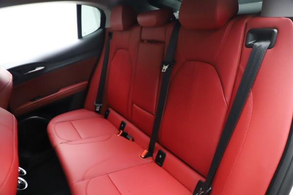 New 2021 Alfa Romeo Stelvio Q4 for sale Sold at Bugatti of Greenwich in Greenwich CT 06830 20