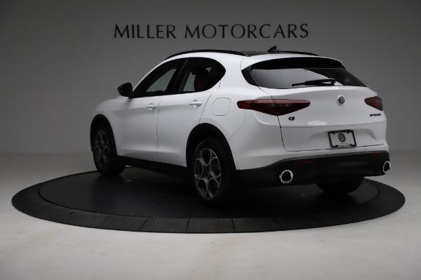 New 2021 Alfa Romeo Stelvio Q4 for sale Sold at Bugatti of Greenwich in Greenwich CT 06830 5