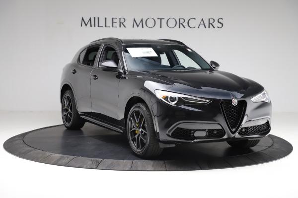 New 2021 Alfa Romeo Stelvio Ti Sport Q4 for sale $57,595 at Bugatti of Greenwich in Greenwich CT 06830 11