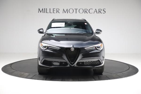 New 2021 Alfa Romeo Stelvio Ti Sport Q4 for sale $57,595 at Bugatti of Greenwich in Greenwich CT 06830 12
