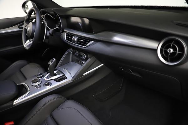 New 2021 Alfa Romeo Stelvio Ti Sport Q4 for sale $57,595 at Bugatti of Greenwich in Greenwich CT 06830 22