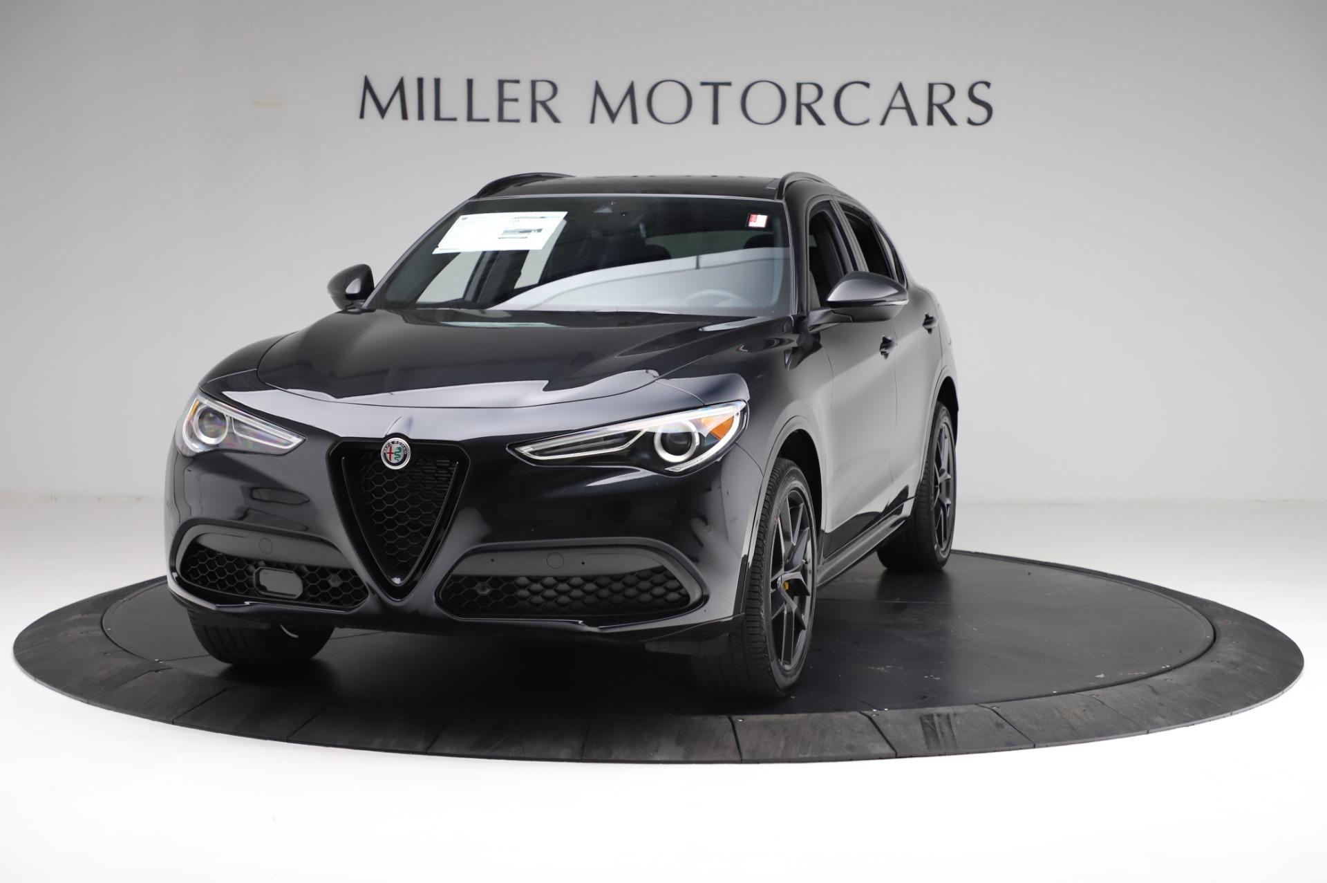 New 2021 Alfa Romeo Stelvio Ti Sport Q4 for sale $57,595 at Bugatti of Greenwich in Greenwich CT 06830 1