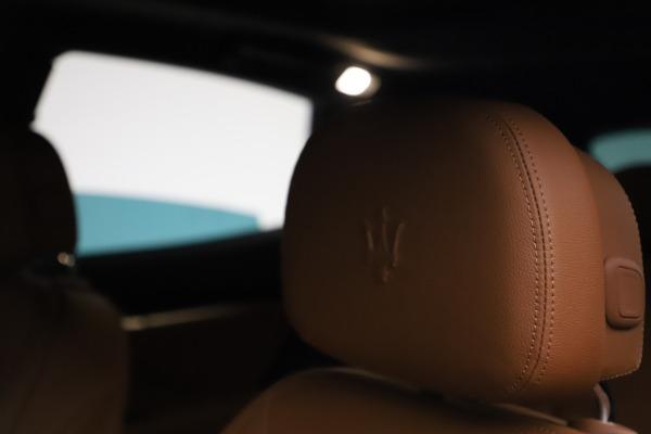 New 2021 Maserati Levante S Q4 for sale $98,925 at Bugatti of Greenwich in Greenwich CT 06830 16