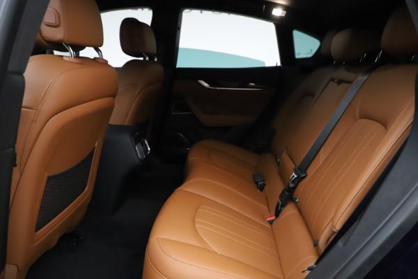 New 2021 Maserati Levante S Q4 for sale $98,925 at Bugatti of Greenwich in Greenwich CT 06830 22