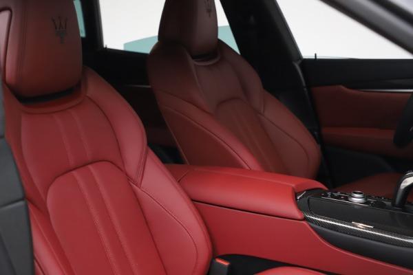 New 2021 Maserati Levante S Q4 GranSport for sale $105,835 at Bugatti of Greenwich in Greenwich CT 06830 19
