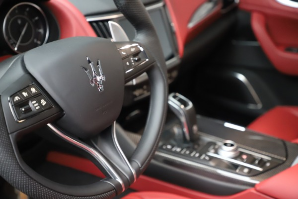 New 2021 Maserati Levante S Q4 GranSport for sale $105,835 at Bugatti of Greenwich in Greenwich CT 06830 21