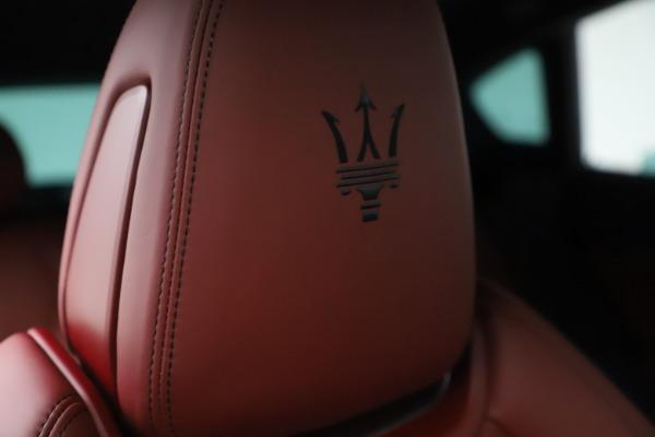 New 2021 Maserati Levante S Q4 GranSport for sale $105,835 at Bugatti of Greenwich in Greenwich CT 06830 23