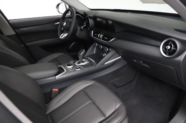 New 2021 Alfa Romeo Stelvio Q4 for sale $49,785 at Bugatti of Greenwich in Greenwich CT 06830 22