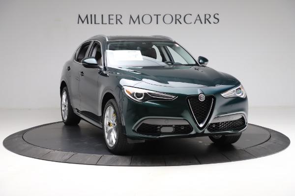 New 2021 Alfa Romeo Stelvio Ti Q4 for sale $54,000 at Bugatti of Greenwich in Greenwich CT 06830 12