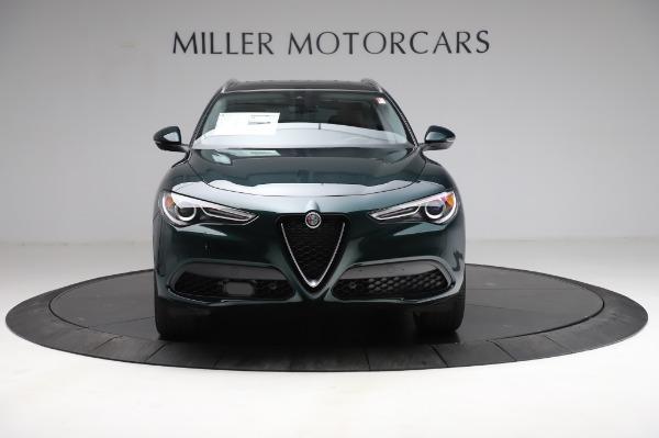 New 2021 Alfa Romeo Stelvio Ti Q4 for sale $54,000 at Bugatti of Greenwich in Greenwich CT 06830 13