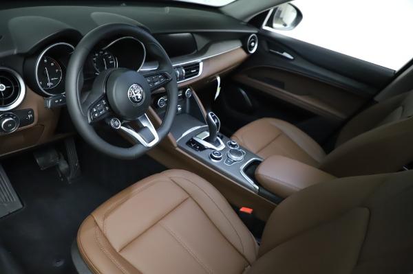 New 2021 Alfa Romeo Stelvio Ti Q4 for sale $54,000 at Bugatti of Greenwich in Greenwich CT 06830 14