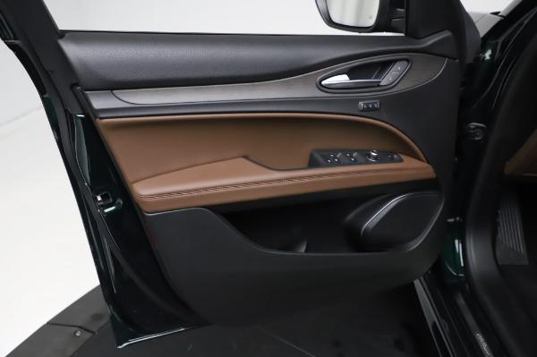 New 2021 Alfa Romeo Stelvio Ti Q4 for sale $54,000 at Bugatti of Greenwich in Greenwich CT 06830 18