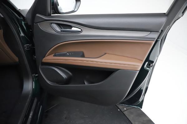 New 2021 Alfa Romeo Stelvio Ti Q4 for sale $54,000 at Bugatti of Greenwich in Greenwich CT 06830 24