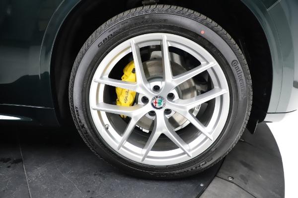 New 2021 Alfa Romeo Stelvio Ti Q4 for sale $54,000 at Bugatti of Greenwich in Greenwich CT 06830 27