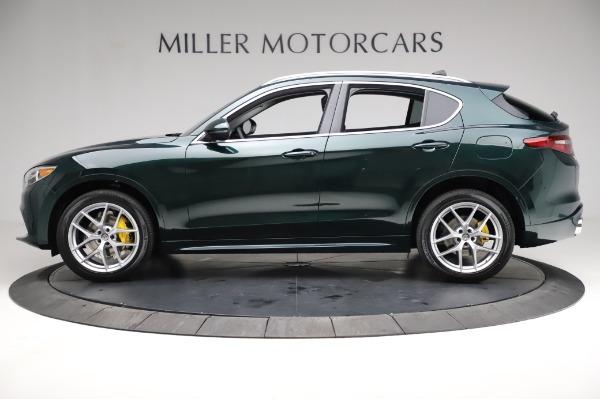 New 2021 Alfa Romeo Stelvio Ti Q4 for sale $54,000 at Bugatti of Greenwich in Greenwich CT 06830 3
