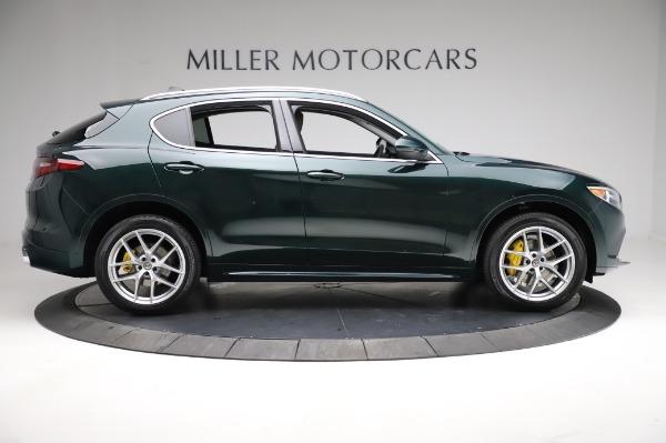 New 2021 Alfa Romeo Stelvio Ti Q4 for sale $54,000 at Bugatti of Greenwich in Greenwich CT 06830 9