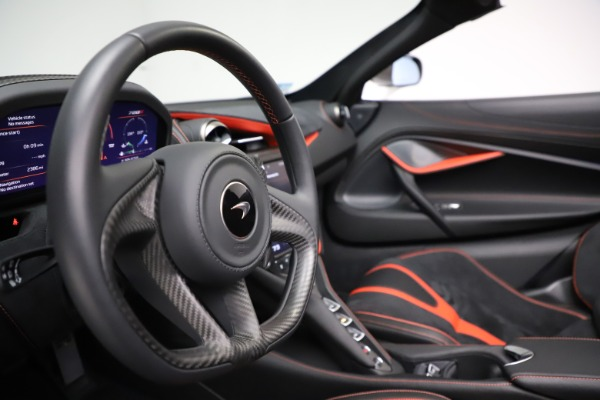 Used 2020 McLaren 720S Spider for sale Sold at Bugatti of Greenwich in Greenwich CT 06830 26