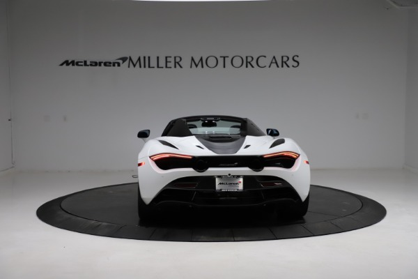 Used 2020 McLaren 720S Spider for sale Sold at Bugatti of Greenwich in Greenwich CT 06830 4