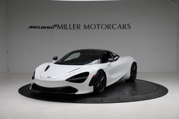 Used 2020 McLaren 720S Spider for sale Sold at Bugatti of Greenwich in Greenwich CT 06830 8