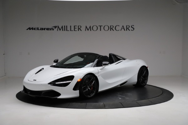 Used 2020 McLaren 720S Spider for sale Sold at Bugatti of Greenwich in Greenwich CT 06830 1