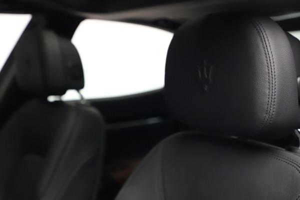 New 2021 Maserati Ghibli S Q4 for sale Sold at Bugatti of Greenwich in Greenwich CT 06830 16