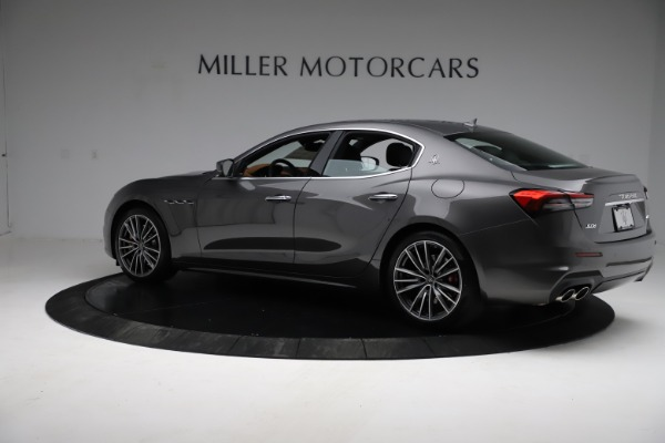 New 2021 Maserati Ghibli S Q4 for sale $90,525 at Bugatti of Greenwich in Greenwich CT 06830 4