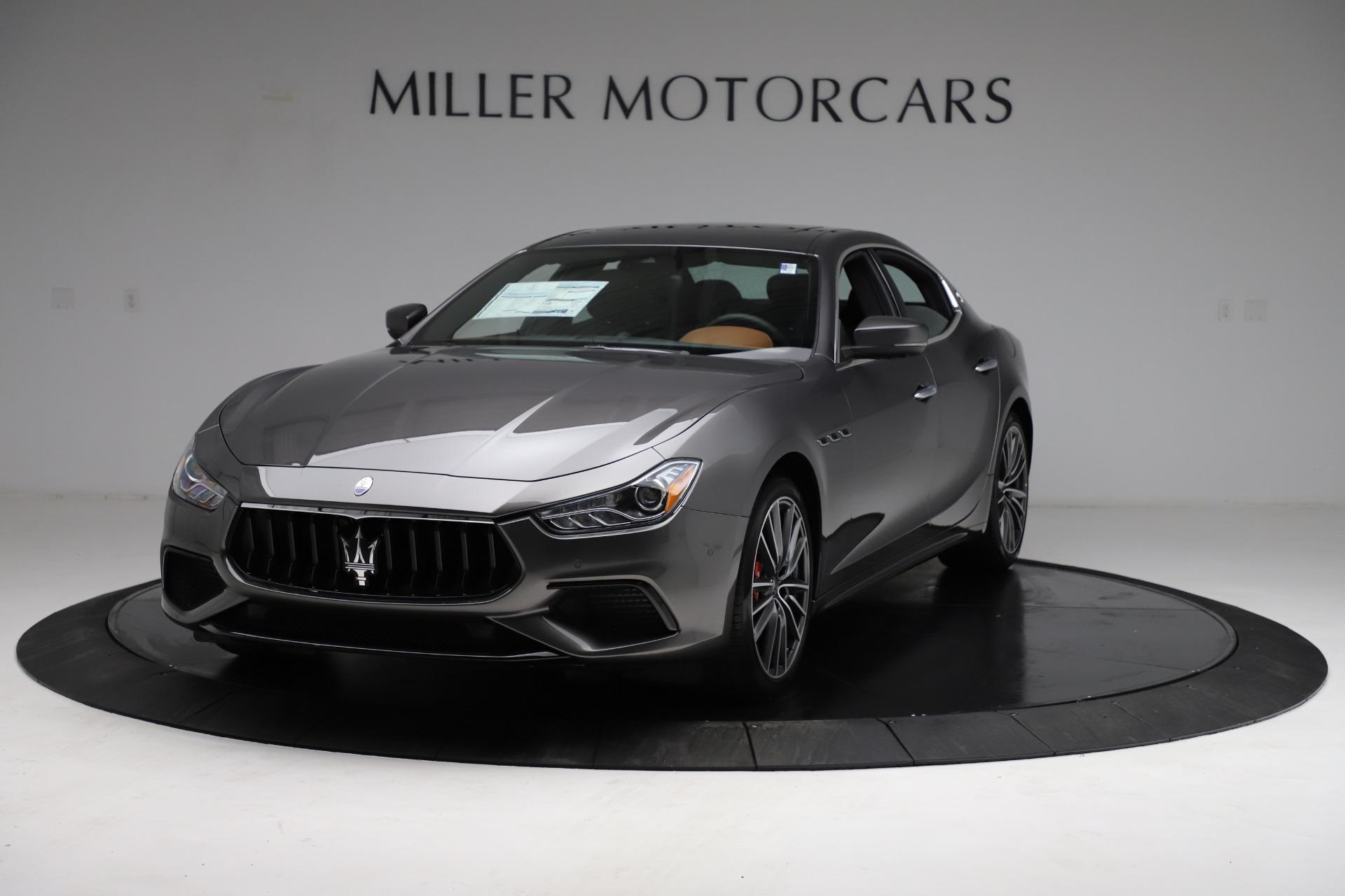 New 2021 Maserati Ghibli S Q4 for sale Sold at Bugatti of Greenwich in Greenwich CT 06830 1