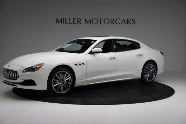 New 2021 Maserati Quattroporte S Q4 GranLusso for sale $122,349 at Bugatti of Greenwich in Greenwich CT 06830 2