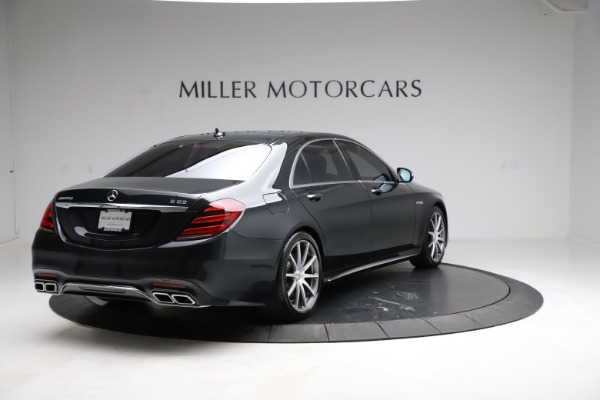 Used 2019 Mercedes-Benz S-Class AMG S 63 for sale $122,900 at Bugatti of Greenwich in Greenwich CT 06830 11