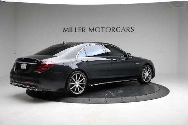 Used 2019 Mercedes-Benz S-Class AMG S 63 for sale $122,900 at Bugatti of Greenwich in Greenwich CT 06830 12