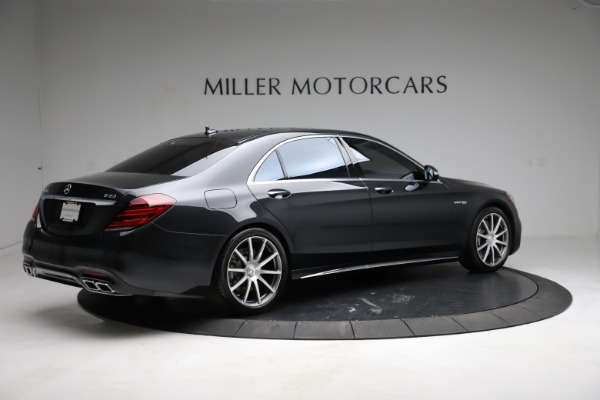 Used 2019 Mercedes-Benz S-Class AMG S 63 for sale $122,900 at Bugatti of Greenwich in Greenwich CT 06830 13