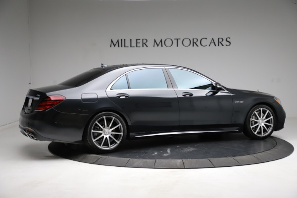 Used 2019 Mercedes-Benz S-Class AMG S 63 for sale $122,900 at Bugatti of Greenwich in Greenwich CT 06830 14