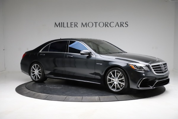 Used 2019 Mercedes-Benz S-Class AMG S 63 for sale $122,900 at Bugatti of Greenwich in Greenwich CT 06830 18