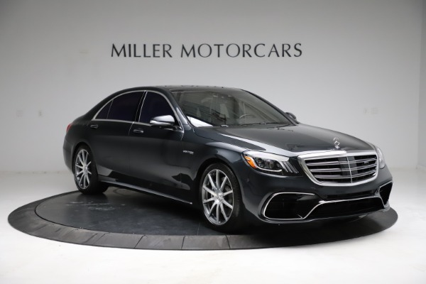 Used 2019 Mercedes-Benz S-Class AMG S 63 for sale $122,900 at Bugatti of Greenwich in Greenwich CT 06830 19