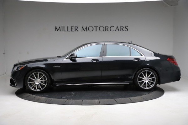 Used 2019 Mercedes-Benz S-Class AMG S 63 for sale $122,900 at Bugatti of Greenwich in Greenwich CT 06830 4