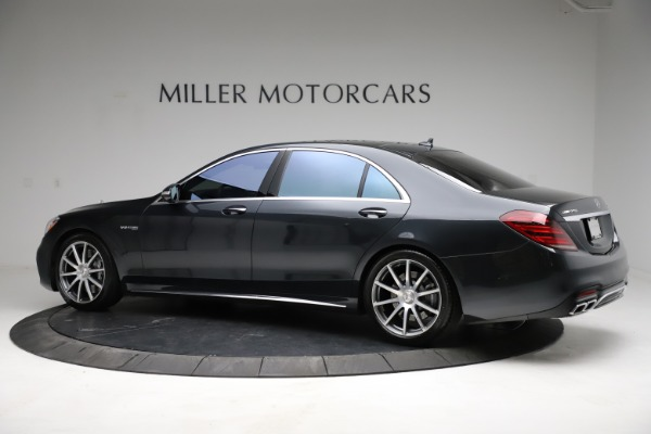 Used 2019 Mercedes-Benz S-Class AMG S 63 for sale $122,900 at Bugatti of Greenwich in Greenwich CT 06830 6