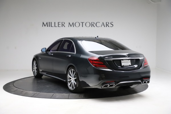 Used 2019 Mercedes-Benz S-Class AMG S 63 for sale $122,900 at Bugatti of Greenwich in Greenwich CT 06830 8