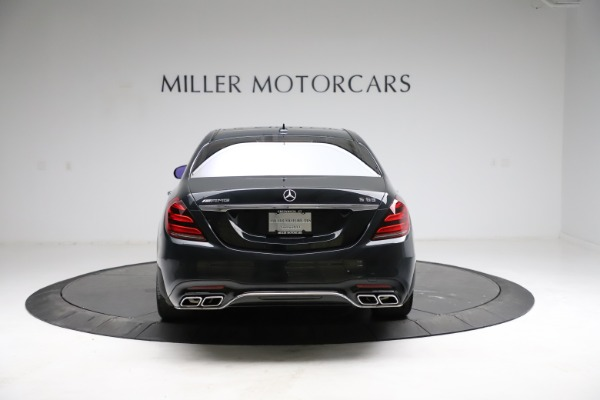 Used 2019 Mercedes-Benz S-Class AMG S 63 for sale $122,900 at Bugatti of Greenwich in Greenwich CT 06830 9