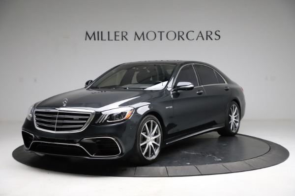 Used 2019 Mercedes-Benz S-Class AMG S 63 for sale $122,900 at Bugatti of Greenwich in Greenwich CT 06830 1