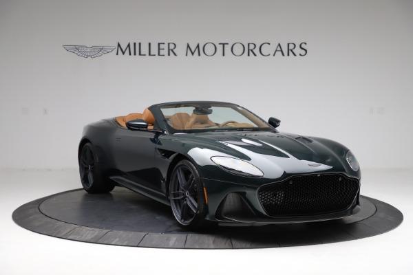 New 2021 Aston Martin DBS Superleggera Volante for sale $392,916 at Bugatti of Greenwich in Greenwich CT 06830 10