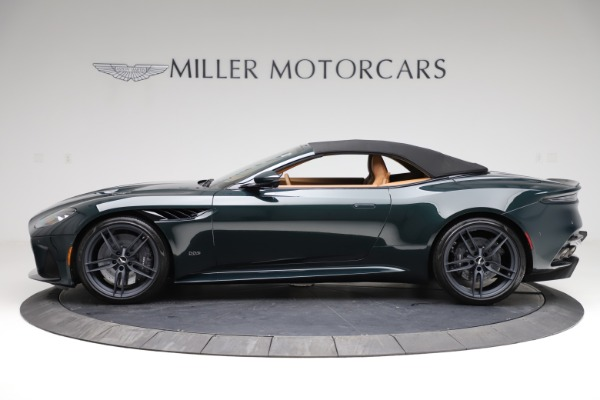 New 2021 Aston Martin DBS Superleggera Volante for sale $392,916 at Bugatti of Greenwich in Greenwich CT 06830 14