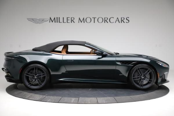 New 2021 Aston Martin DBS Superleggera Volante for sale $392,916 at Bugatti of Greenwich in Greenwich CT 06830 15