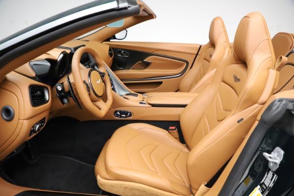 New 2021 Aston Martin DBS Superleggera Volante for sale $392,916 at Bugatti of Greenwich in Greenwich CT 06830 18