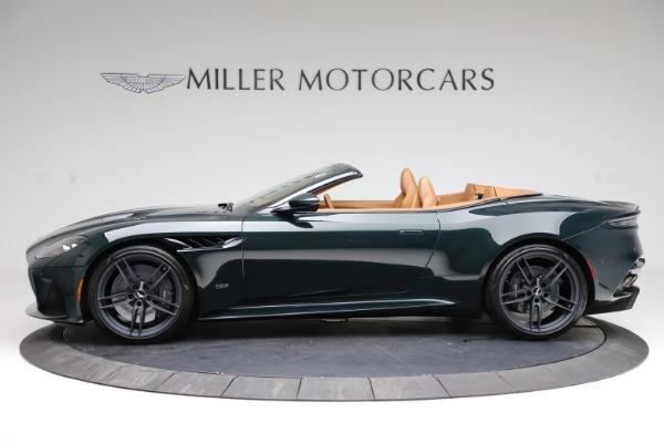 New 2021 Aston Martin DBS Superleggera Volante for sale $392,916 at Bugatti of Greenwich in Greenwich CT 06830 2